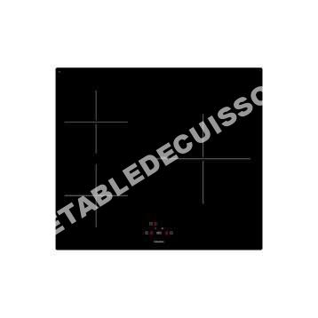 Table de cuisson plaque induction 3 foyers noir vi3 au - Plaque induction 3 foyers ...