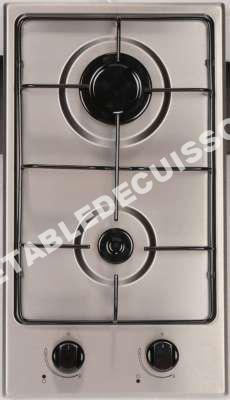 table de cuisson aya domino gaz adg2x au meilleur prix. Black Bedroom Furniture Sets. Home Design Ideas