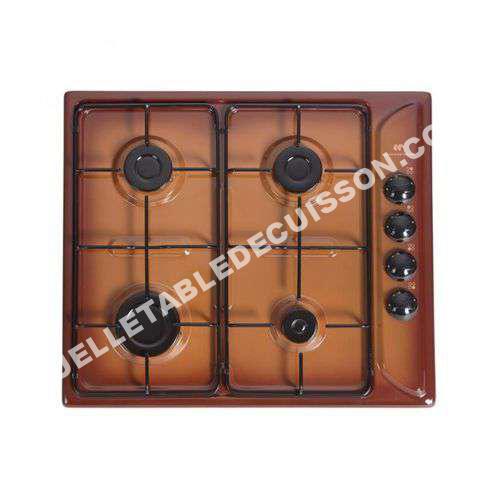 table de cuisson continental edison ctg4tf table de cuisson gaz au meilleur pri. Black Bedroom Furniture Sets. Home Design Ideas