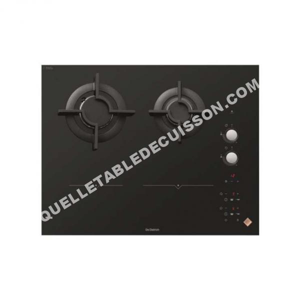 Table de cuisson de dietrich table mixte induction gaz - Table de cuisson gaz de dietrich ...