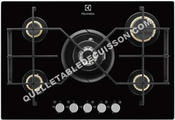 plaque de cuisson gaz 5 feux electrolux blog de. Black Bedroom Furniture Sets. Home Design Ideas