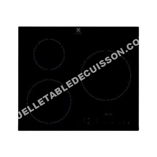 Table de cuisson electrolux ehh6333fok table induction ehh6333fok au meilleur - Electrolux e6113hik table de cuisson ...