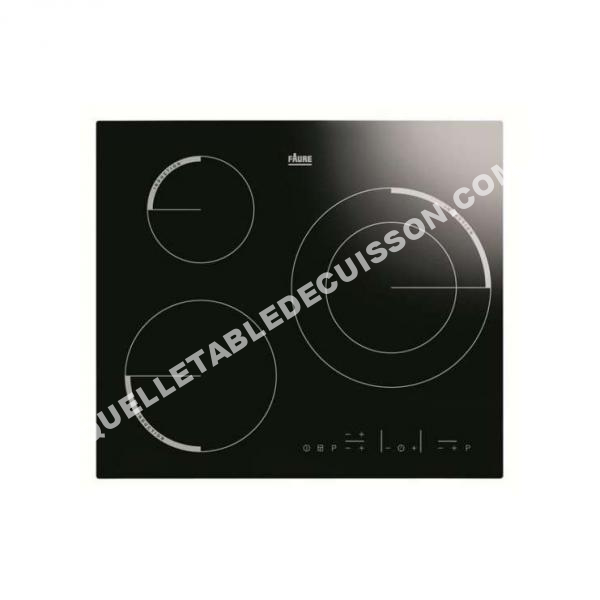 Table de cuisson faure table de cuisson induction fei6532fba au meilleur prix - Meilleur table de cuisson induction ...