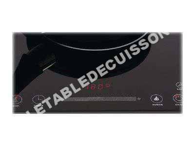 table de cuisson k nig slim line kn induc 20 plaque chauffante induction. Black Bedroom Furniture Sets. Home Design Ideas