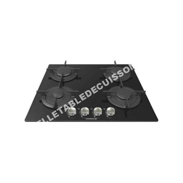 table de cuisson rosi res table de cuisson gaz rgv64fmpn au meilleur prix. Black Bedroom Furniture Sets. Home Design Ideas