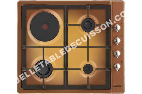 table de cuisson rosi res plaque mixte rtt631fcfav au. Black Bedroom Furniture Sets. Home Design Ideas