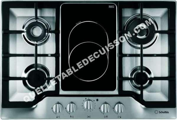 table de cuisson scholtes tg753vghix au meilleur prix !