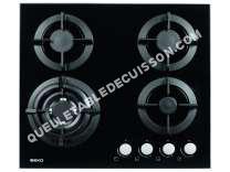 Table de cuisson <br/>à gaz  Table de cuisson gaz 4 foyers HISW64222S