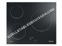 Table de cuisson <br/>vitrocéramique  Table de cuisson vitrocéramique 3 foyers CH630C/1