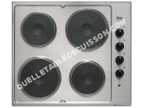 Table de cuisson <br/>électrique  Table de cuisson électrique coloris inox TE42X/13