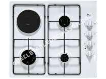 Table de cuisson <br/>mixte  Table de cuisson mixte coloris bla TMSA40B/13