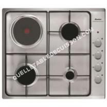 Table de cuisson <br/>mixte  Plaque mixte gaz électrique SPE4464MX